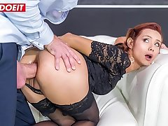 LETSDOEIT - Hot Fat Ass Latina Veronica Leal Takes Saving except Anal Sex Be useful to Her Life