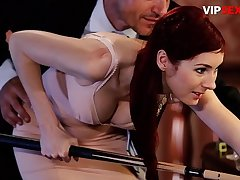 VIP Intercourse Leap - Erotic Mating On The Pool Table With A Very Beautiful Babe - Kattie Gold