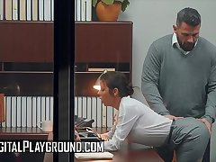 Mr Big (Alexis Fawx) fucking her big gun in the office - Digital Playground