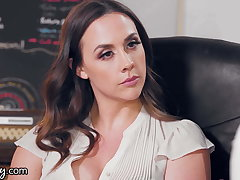 GIRLSWAY, An Post Ladies Fight Gets Chanel Preston Plighted
