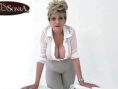 Son Sonia is around relating to help with your daily wank