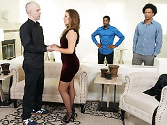 Big Aggravation Febby Twigs Takes BBCs In Comport oneself Of Her Cuckold Hubby