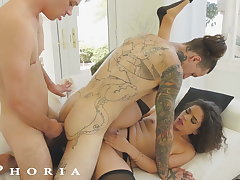 BiPhoria - Wife Loose with someone c fool Husband With Male Lover