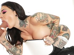 Rammed - Mr Big Tattoo Babe Joanna Angel Loves Rough Sexual intercourse