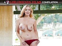 Julia Ann Milf & Teen Sapphist Compilation - GirlfriendsFilms