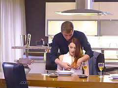 Dane Jones, Morose Czech redhead Charlie Red, intimate oral
