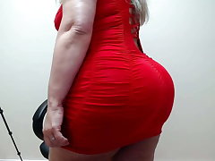 red coladinho dress dance