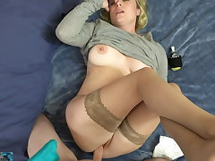 Stepmom has a headache with the addition of needs sex
