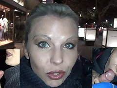 Blowjob with 2 strangers round the middle of Berlin