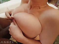 EvilAngel - Busty Anal MILF Dee Williams Rides Black Cock