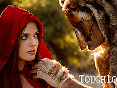 TOUGHLOVEX Red-hot Riding Hood Scarlett meets Werestud