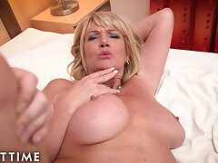 ADULT TIME – Big Titted Gilf Gets Fucked By A Undesigned Stud