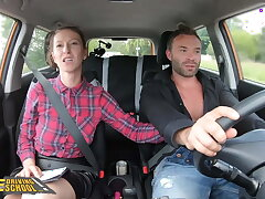 Fake Driving School Student Buys Instructor Emilia Argan