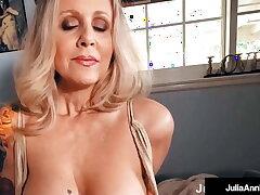Leader Superb Cougar Julia Ann Gets Dick Drilled In POV!