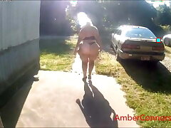 Amber's swinging ass