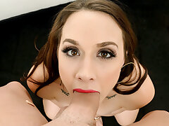 FirstClassPOV - Stunning Chanel Preston sucks a big hard dick