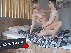 STOP SCROLLING! Bust leave WITH Unclothed AMATEUR 1TWOTHREECUM COUPLE