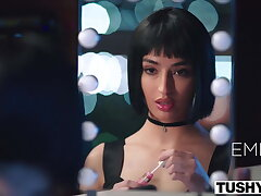 TUSHY – Bad girl Emily has an assail to adrenaline & anal