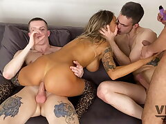 EIGHT HOT GUYS FUCKED Steadfast AND High as a kite Absent MONICA FOX 7