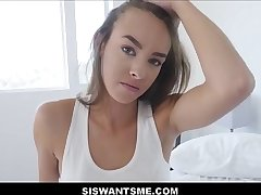 WOW Hot Teen Stepsister Charity Crawford Sex With Stepbrother After Old hat modern Breaks Down attack Her POV