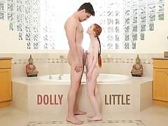 Reproach ME - Redhead Teen Dolly Little Gets Ravaged Off out of one's mind Bruce Venture