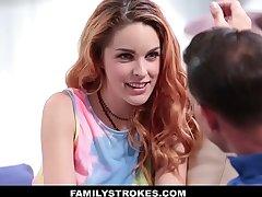 FamilyStrokes - Hot European Teen Seduced By Creepy Uncle
