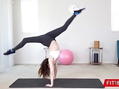 FIT18 - Aliya Brynn - 50kg - Casting Flexible with the addition of Horny Petite Dancer