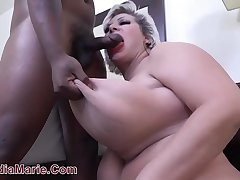 18 Year OId Black Brat Rampages On Saggy Fake Teat Cow Claudia Marie