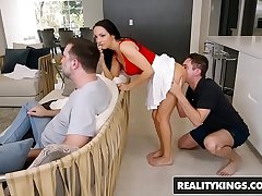 Reality Kings - Sneaky Sex - No Screwing Around - (Sofi Ryan, Brad Knight)