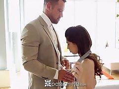 Passion-HD - Huge cumshot for downcast lean brunette Ava Taylor