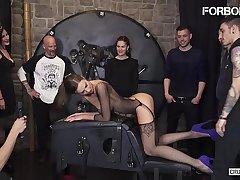 FORBONDAGE - Xtreme BDSM Fetish Fuck For Big Tits Murkiness MILF Tina Kay