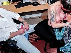 AMATEUR EURO - Wife And Husband Attach A Third Wheel To Their Fetish Sex Session - Adrienne Kiss And Ziska