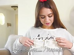 PASSION-HD Christmas have a passion and facial after Riley Reid opens sex cleverness