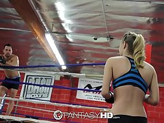 HD FantasyHD - Natalia Starr wrestles her way come into possession of fuck session
