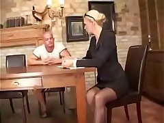 german milf screwed by rude baffle