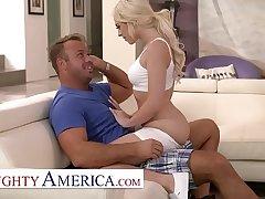 Naughty America - Allie Nicole fucks her advanced neighbor