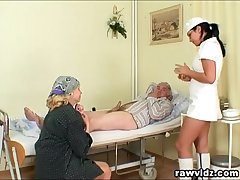 Naughty Hot Nurse Helps Old At all events To Realize Laid