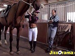 JizzOrama - Latina Tera Joy Run Cock Like bondmaid !