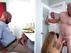 DON'T FUCK MY DAUGHTER  Teen Alyssa Cole Gets Will not hear of Way With Daddy's Friend